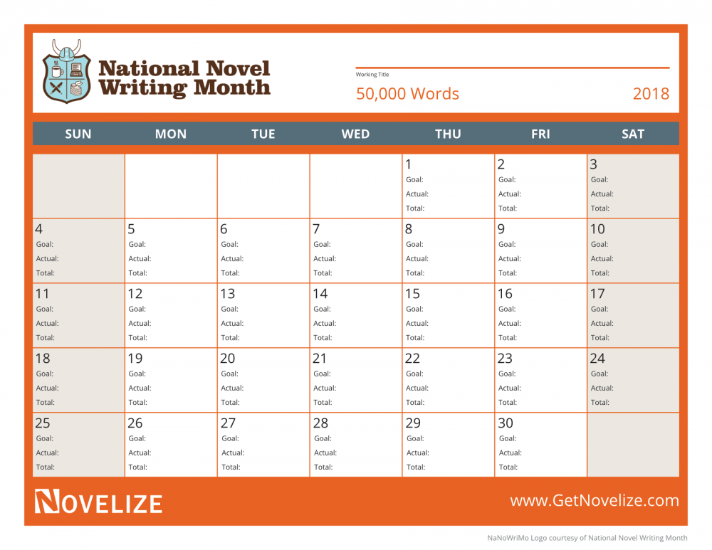 5 Reasons You Should Try National Novel Writing Month